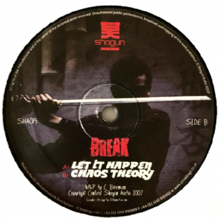 "Break ‎- Let It Happen/Chaos Theory (12"") (F+/NM)"